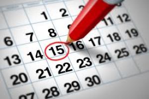 kalenderwijzigingen